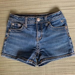 Justice Girls Jeans Shorts Size 12